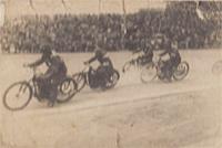 Václav Růžička v závodě