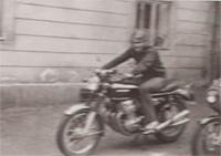 Táta na Hondě 750 - 1. ve východní Evropě